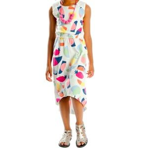 Appaman Size 10 Abstract & Fruit Printed Dress